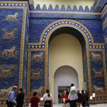the Ishtar Gate from Babylon